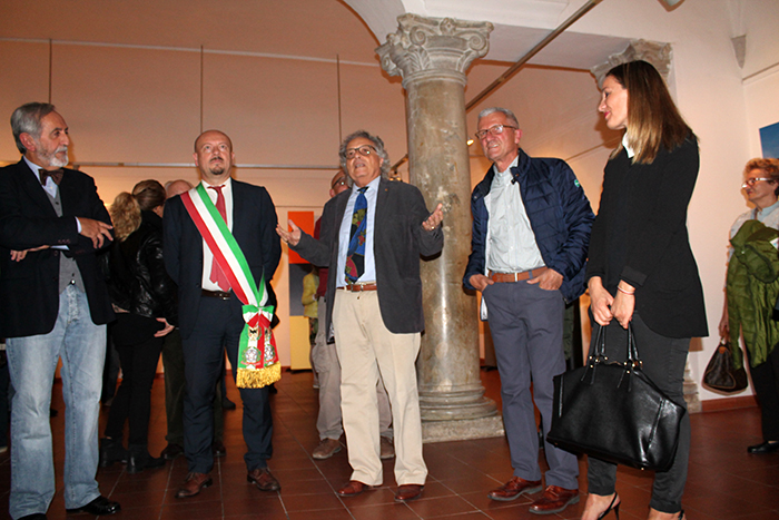 inaugurazione mostra di Forlì